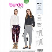 6358 Burda Pattern: Misses' Hyper Baggy Trousers